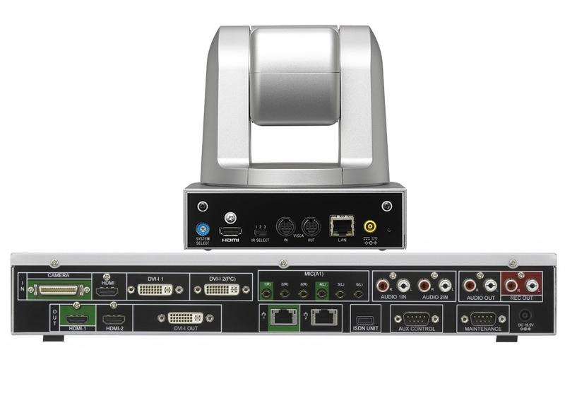 Sony Videokonferenzsystem XG77H-Rückansicht